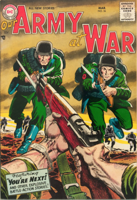Our Army at War #56. Click for current values.