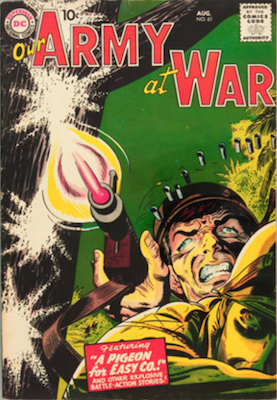 Our Army at War #61. Click for current values.