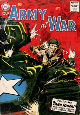 Our Army at War #64. Click for current values.