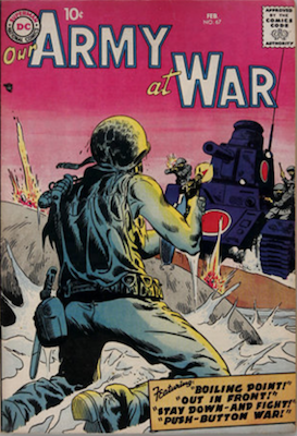 Our Army at War #67. Click for current values.