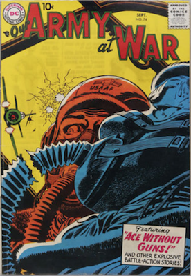 Our Army at War #74. Click for current values.