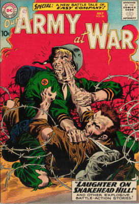 Our Army at War #84: 2nd appearance of Sgt. Rock. Click for current values.