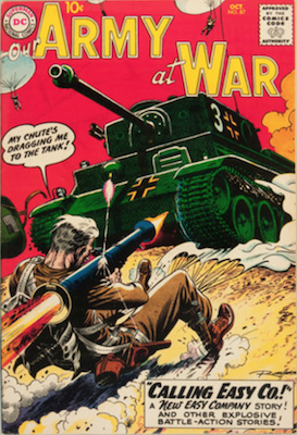 Our Army at War #87. Click for current values.