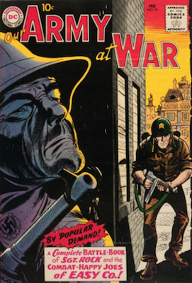 Our Army at War #91. Click for current values.
