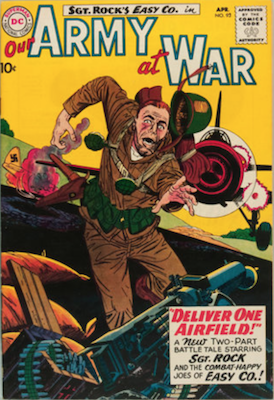 Our Army at War #93: First appearance of Zack Nolan. Click for current values.