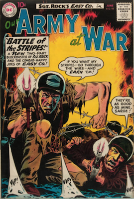 Our Army at War #95: First appearance of Bulldozer. Click for current values.