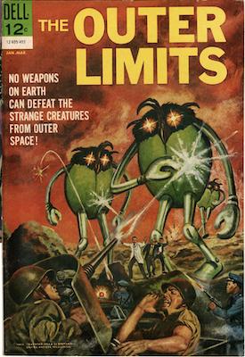 Outer Limits #1 (1964). Dell Comics. Click for values