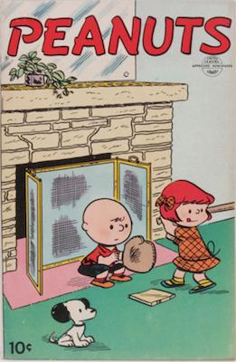 Peanuts #1 (1953). Dell Comics. Click for values