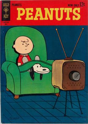 Peanuts #1 (1962), Gold Key. Click for values
