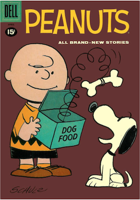 Peanuts (Dell) #8. Click for values.