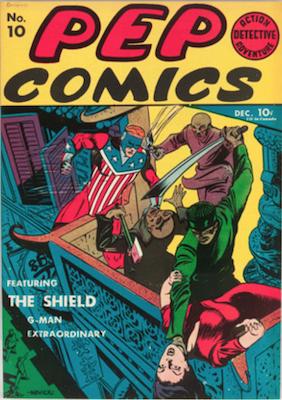 Pep Comics #10. Click for current values.