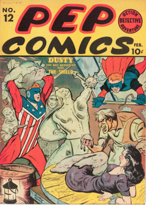Pep Comics #12. Click for current values.