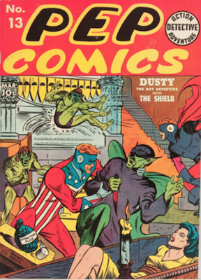 Pep Comics #13. Click for current values.