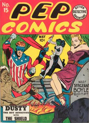 Pep Comics #15. Click for current values.