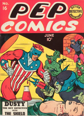 Pep Comics #16. Click for current values.