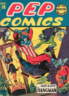 Pep Comics #18. Click for current values.