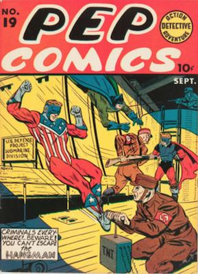 Pep Comics #19. Click for current values.