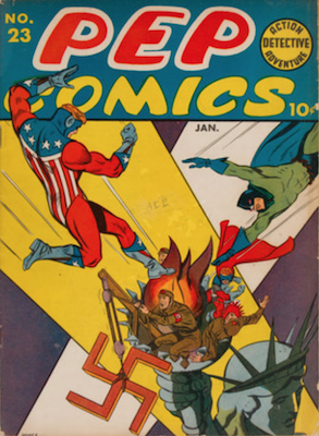 Pep Comics #23. Click for current values.