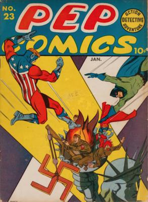 Pep Comics #23. Click for current values.