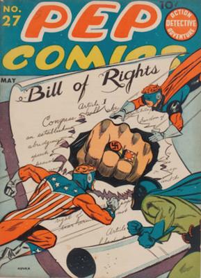 Pep Comics #27. Click for current values.