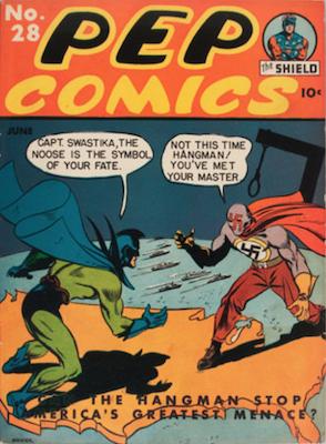 Pep Comics #28. Click for current values.