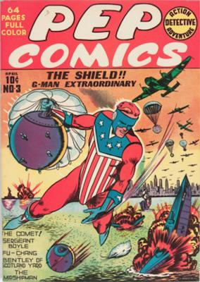 Pep Comics #3. Click for current values.