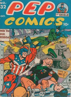 Pep Comics #32. Click for current values.