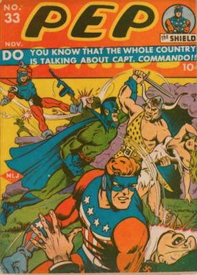 Pep Comics #33. Click for current values.