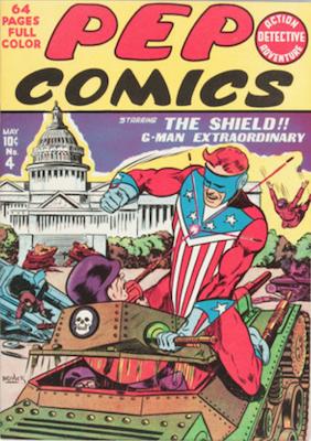 Pep Comics #4. Click for current values.