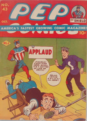 Pep Comics #43. Click for current values.