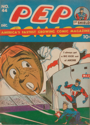 Pep Comics #44. Click for current values.