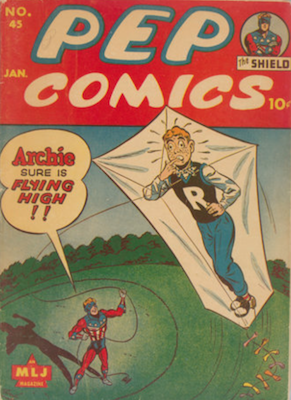 Pep Comics #45. Click for current values.