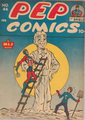 Pep Comics #46. Click for current values.