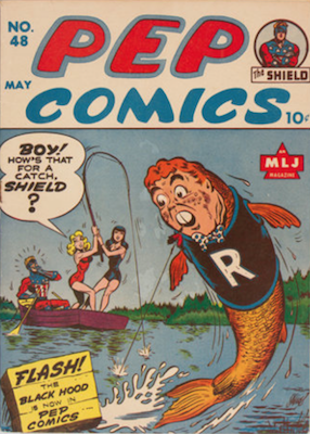 Pep Comics #48. Click for current values.
