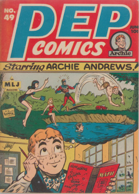 Pep Comics #49. Click for current values.