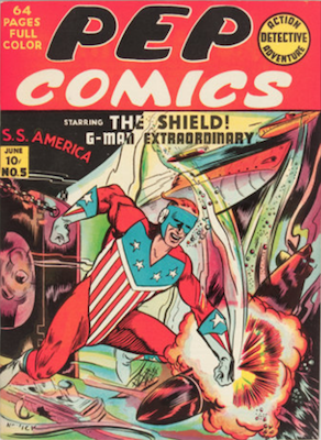 Pep Comics #5. Click for current values.
