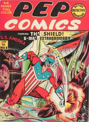 Pep Comics #5. Click for current values.