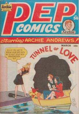 Pep Comics #56. Click for current values.