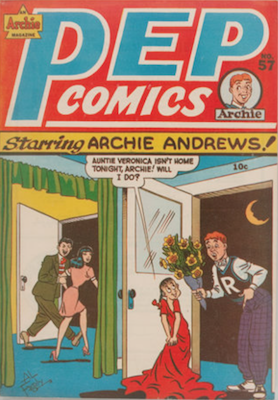 Pep Comics #57. Click for current values.