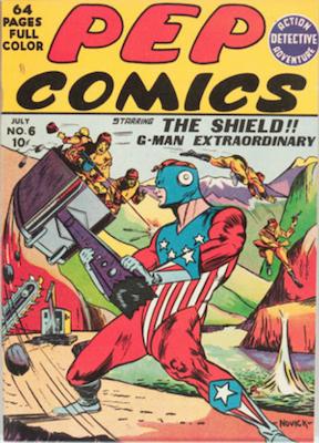 Pep Comics #6. Click for current values.