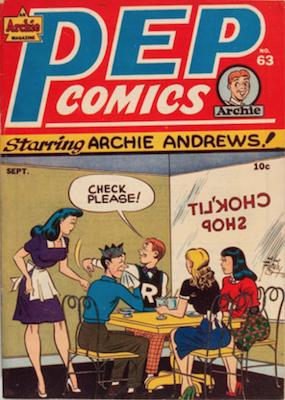 Pep Comics #63. Click for current values.