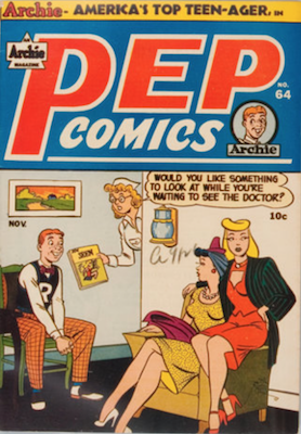 Pep Comics #64. Click for current values.