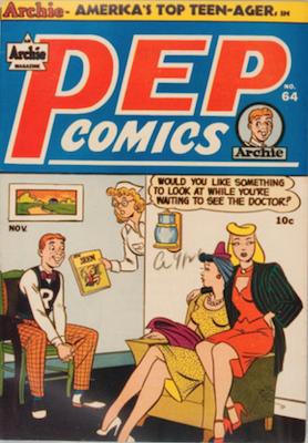 Pep Comics #64. Click for current values.