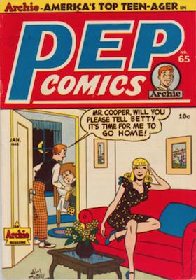 Pep Comics #65. Click for current values.