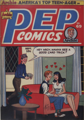 Pep Comics #69. Click for current values.