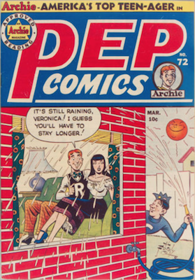 Pep Comics #72. Click for current values.