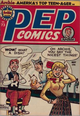 Pep Comics #73. Click for current values.