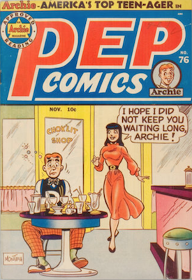 Pep Comics #76. Click for current values.