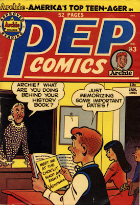 Pep Comics #83. Click for current values.