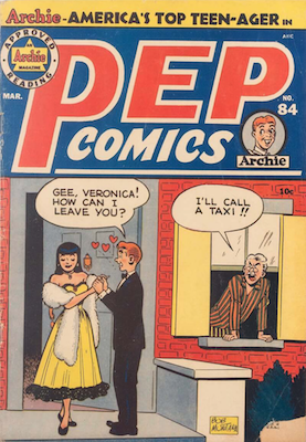 Pep Comics #84. Click for current values.